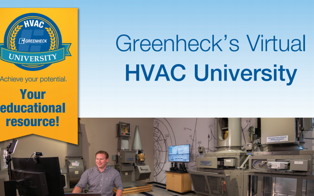 Greenheck HVAC University Goes Virtual